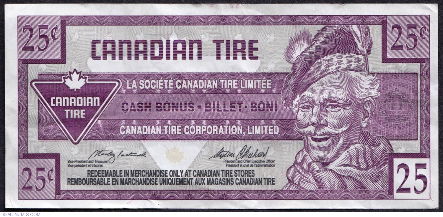 canadian tire money collectible